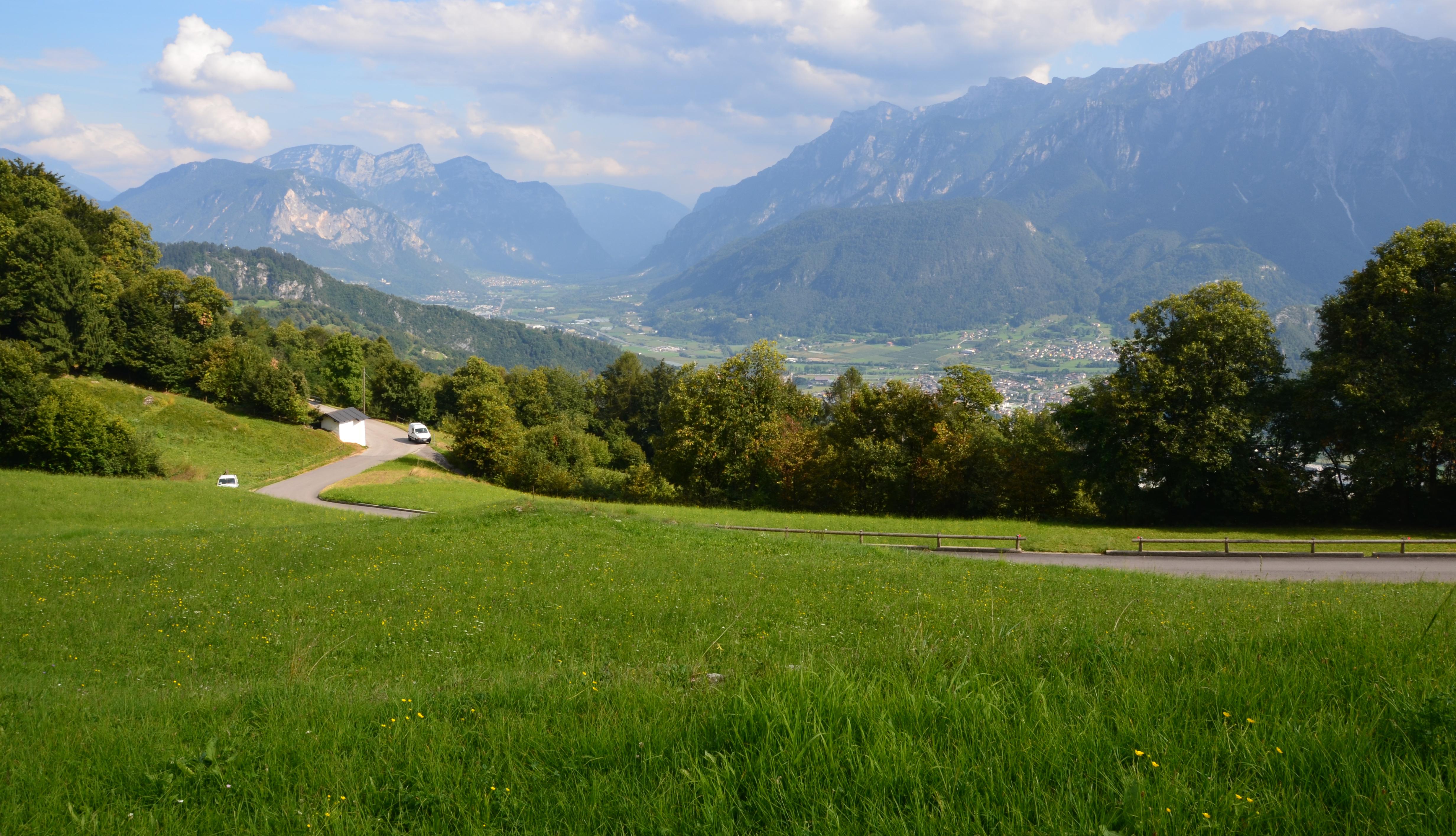 Horské louky voblasti italských Alp, (Foto: K.K.)